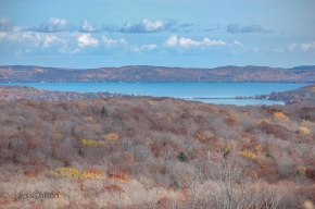 Glen Lakes Sleeping Bear Dunes Fall