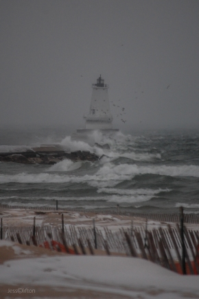 North Breakwater Lighthouse Ludington