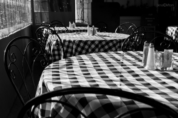 Checkered Table Cloth Amical Traverse City