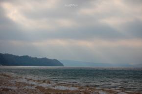 Sunrays & Clouds Over Port Oneida
