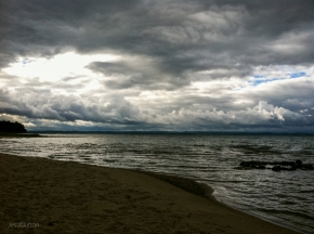 Old Mission Peninsula Storm Clouds