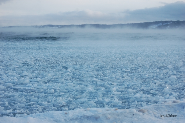 Blue Fog Ice