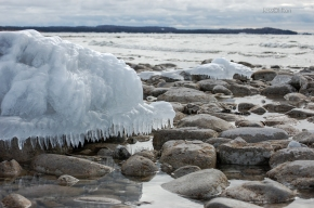 Lake Michigan Ice Cap
