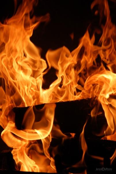 Roaring Fire Flames