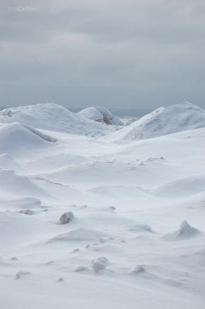 Beyond the Ice Dunes