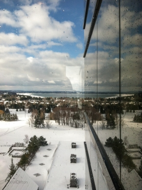 Grand Traverse Resort Winter Reflection