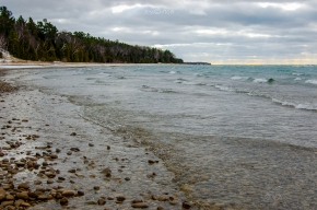 Lake Michigan Shoreline Port Oneida