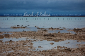 Land of Lakes Quote