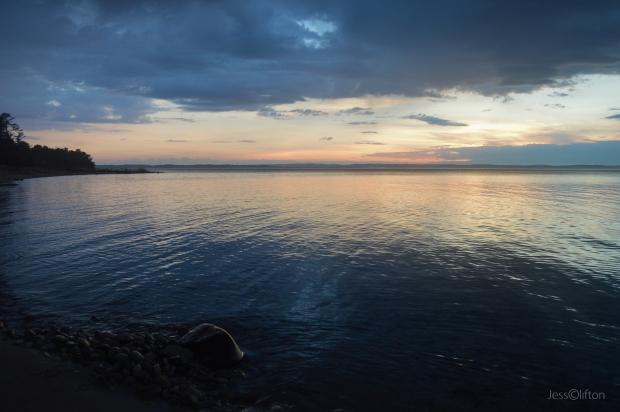 Lake Michigan Nightfall