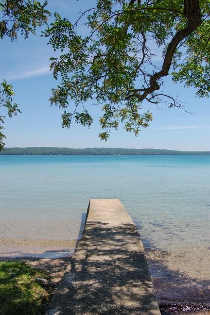 Torch Lake Dock