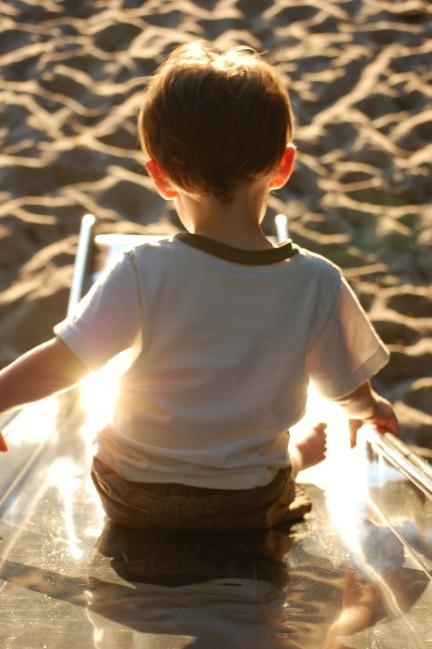 Child Slide Sun