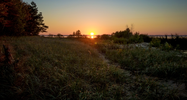 Sunset Path - Old Mission Peninsula